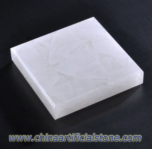 Pure White Jade Glass 2