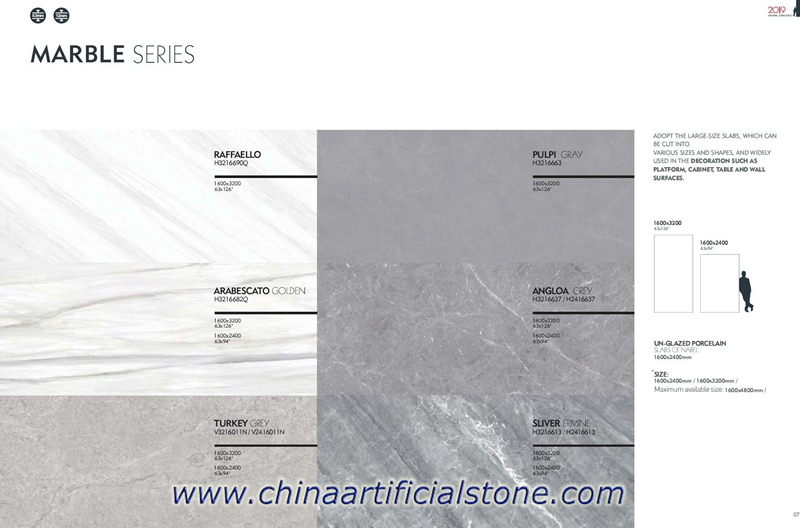Largest Format Porcelain Slabs