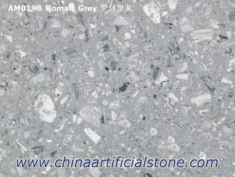 Grey Artificial Marble Engineered Marble