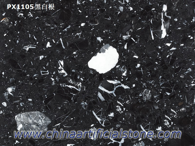 Nero Marquina Artificial Mable Faux Marble