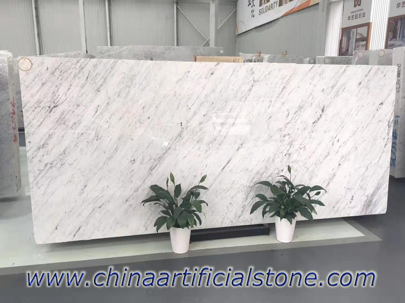 Bianco Carrara White Marble Slabs 18mm 20mm 30mm