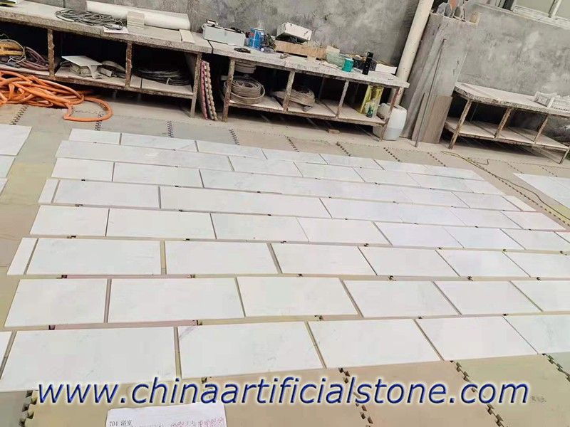Carrara White 10mm Thin Tiles 300x600mm