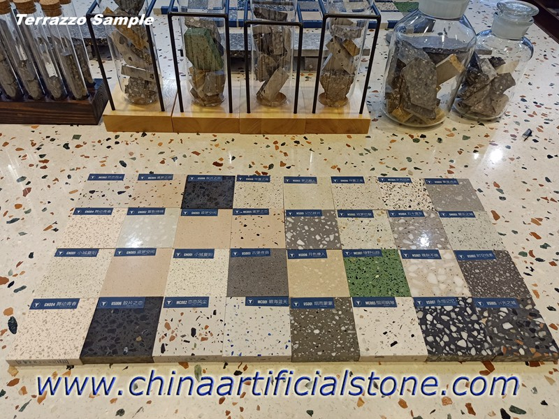 Terazo Terrazzo Tiles and Slabs Samples