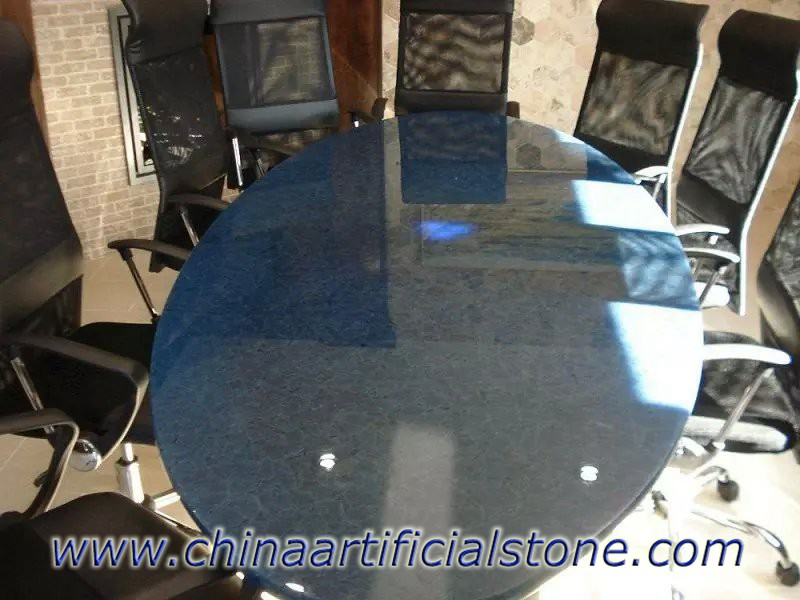 Ocean Blue Glass2 Sea Glass Table Tops