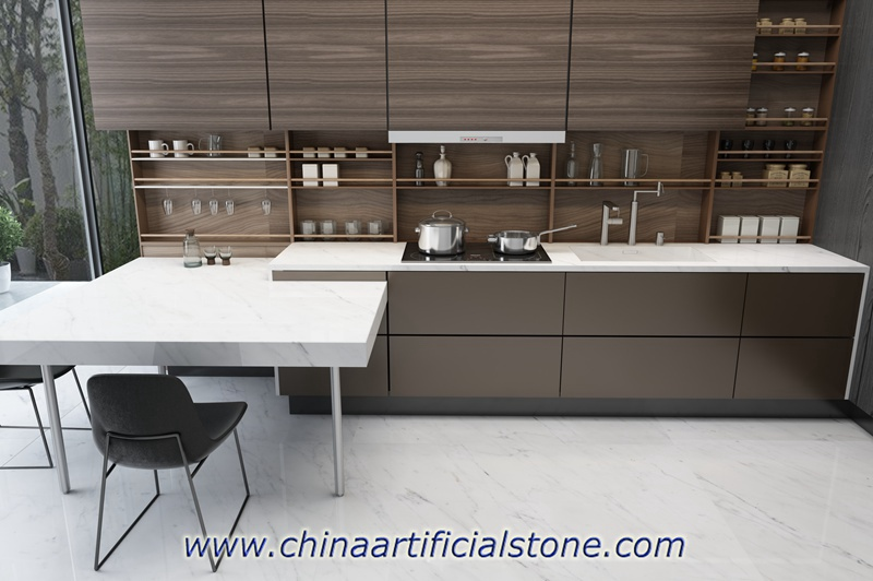 Largest Format Thin Porcelain Slabs for Countertops
