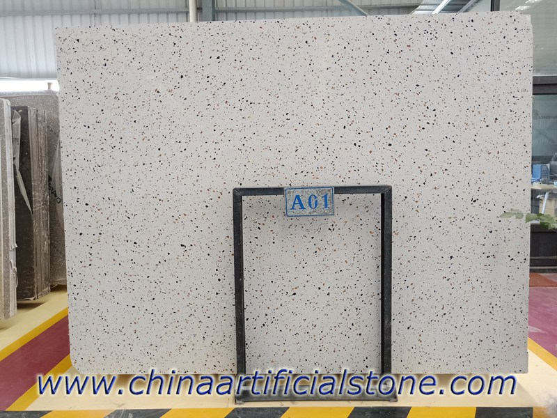 Cement Terrazzo Slabs for Interior and Exterior Paving