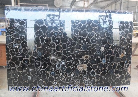 Black Agate Slabs