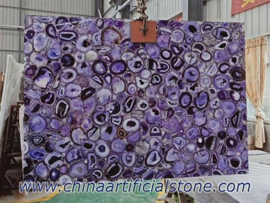 Purple Agate Slabs