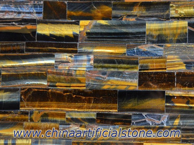 Tiger Eye Blue and Gold Semi Precious Stone Slabs