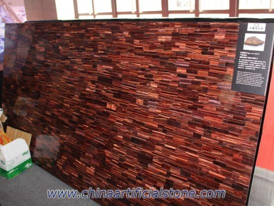 Red Tiger Eye Precious Stone Slabs
