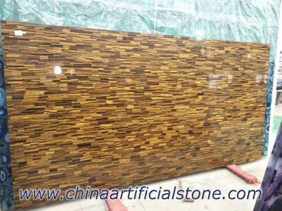 Tiger Eye Gold Precious Stone Slabs
