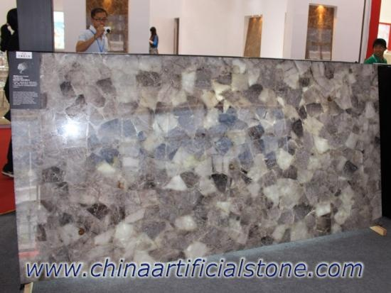 Smokey Quartz Semi Precious Stone Slabs