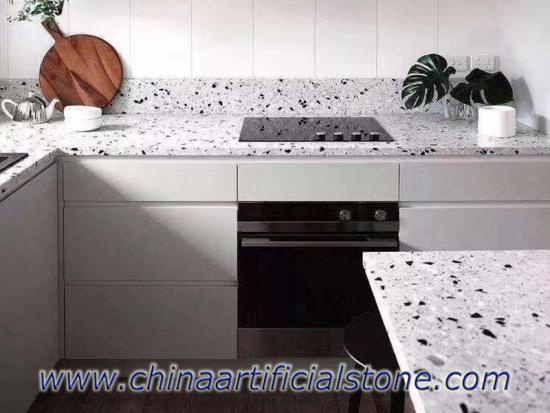 Concrete Terrazzo Slabs for Worktops Counter tops