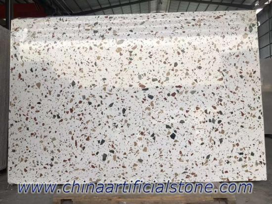 Large Aggregate Colorful Terrazzo Slabs