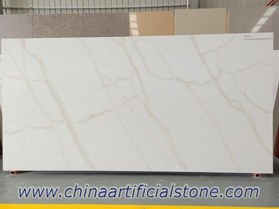 Calacatta Gold Quartz Stone Slabs