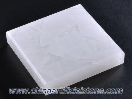 Pure White Magna Glass Ceramic Panel