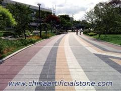 Permeable Ceramic Brick Walkways Pavers