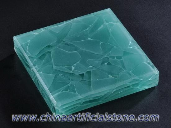 Engineered Upcycle Glass Stone Surface