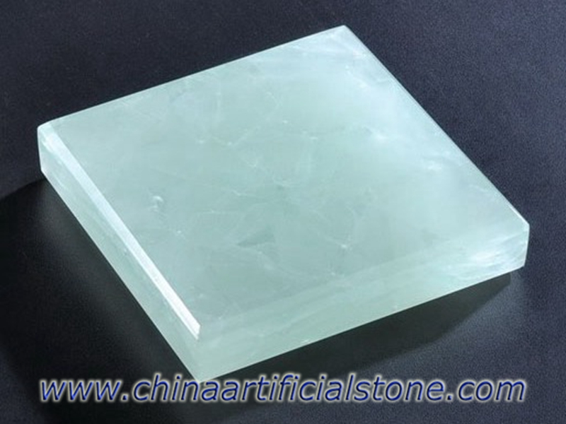Ice Green Jade Glass2 Recycled Glass Stone Slabs