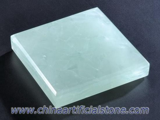 Ice Green Jade Glass Stone Glass2 Recycled Glass Slabs