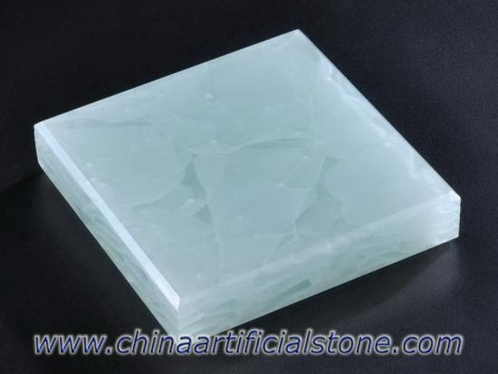 Coral Blue Jade Glass2 Recycled Glass Surface