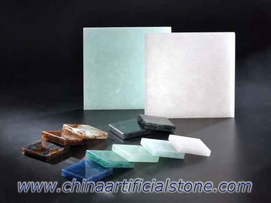 Jade Glass Stone Translucent Recycled Glass Stone