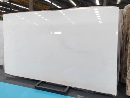 China Pure White Marble Slabs
