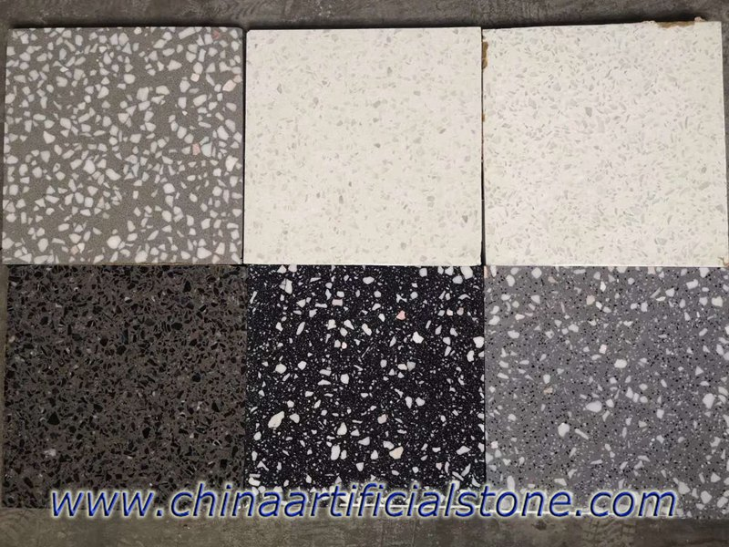 Bespoke Concrete Terrazzo Slabs And Tiles Suppliers Enming
