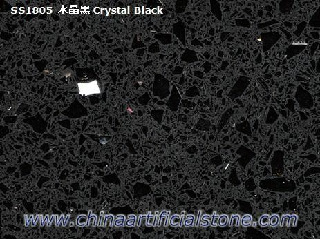 Stellar Night Silestone Sparking Black Quartz