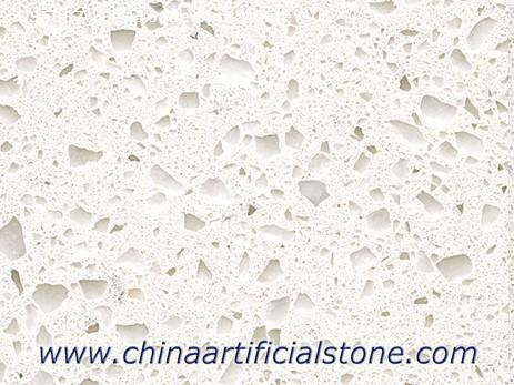 Naugat White Quartz Slab