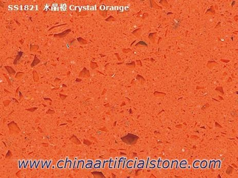 Crystal Orange Stellar Orange Starlight Quartz Stone