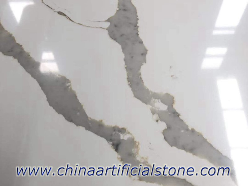 Calacatta Luccia Quartz Slabs for Countertops