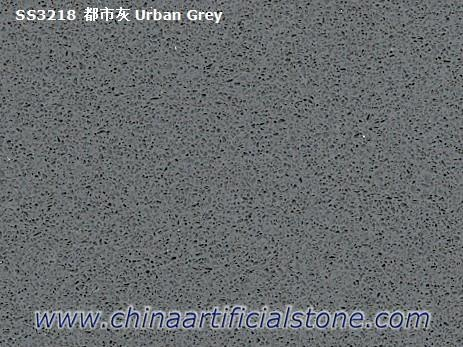 Concrete Grey Pure Grey Quartz Slabs