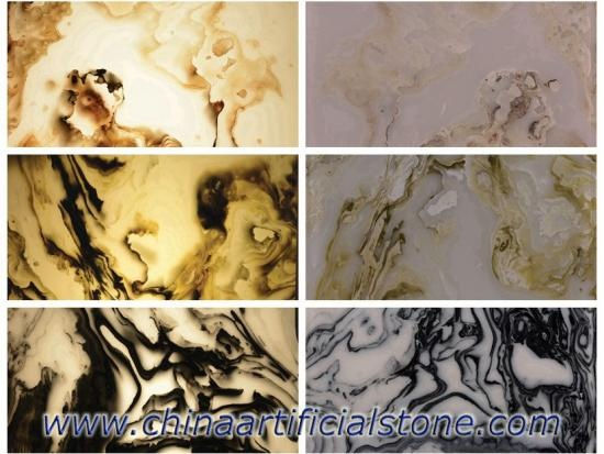 Artificial Onyx Faux Onyx Backlit Stone Panel