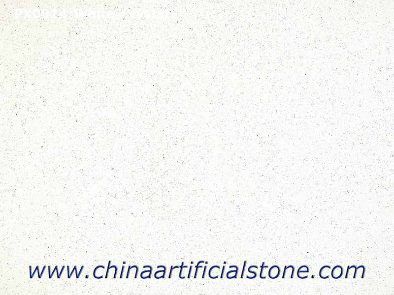 Cheap Crystal White Artificial Marble Slabs and Tiles