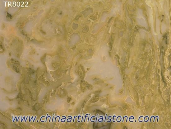 Faux Translucent Stone Backlit Decor Panel