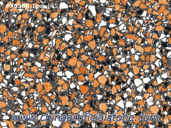 China Top Resin Terrazzo Slabs Tiles for Interior Floor and Wall Factory