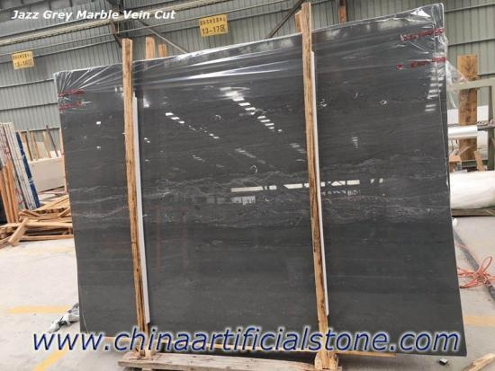 Jazz Grey China Dark Grey Marble Slab