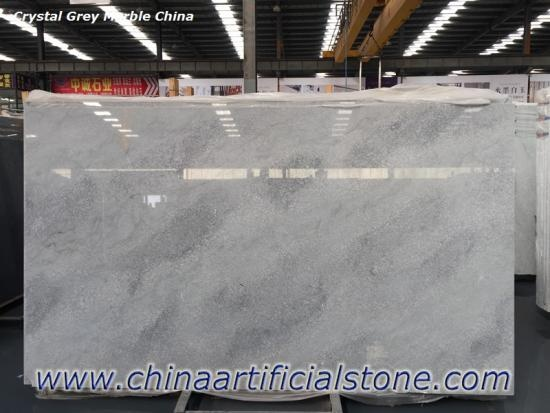 Crystal Grey Marble Chinese Grey Marble Slab