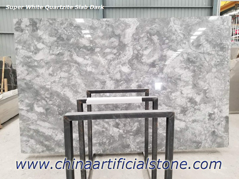 Super White Quartzite Granite Marble Dolomite Slabs