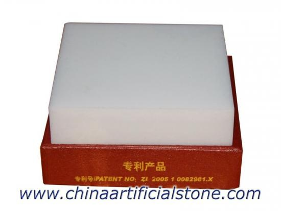Nano White Crystal Glass Stone Tiles