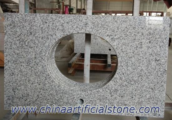 China White Grey Granite Countertops