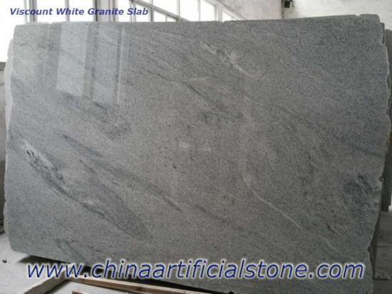 Indian Viscount White Granite Slab