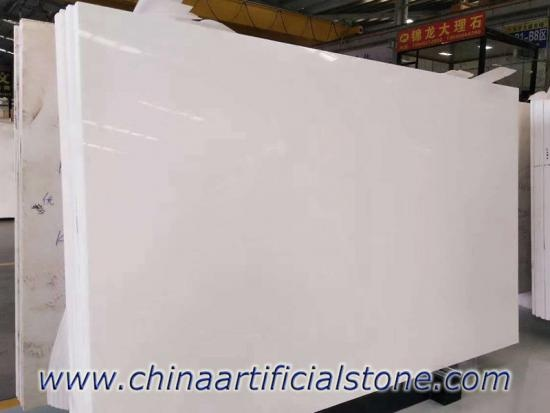 White Nano Glass Nanoglass Slab 3cm