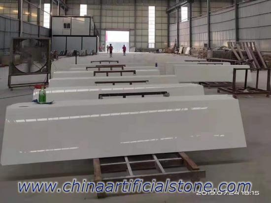 Prefabricated Nanoglass Countertops