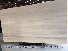 Grey Wood Vein Nano Glass Marble Slab