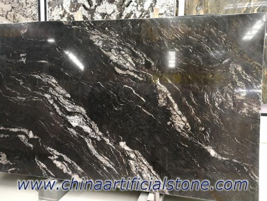 Brazil Cosmos Black Granite Slabs