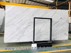 Bianco Carrara White Italian Marble Slab and Tile