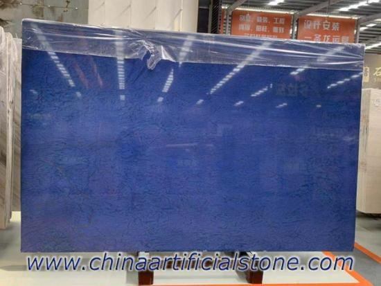 Pure Blue Electrolytic Granite Stone Slab