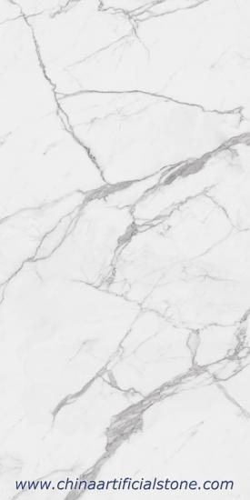 Calacatta White Sintered Stone Slab